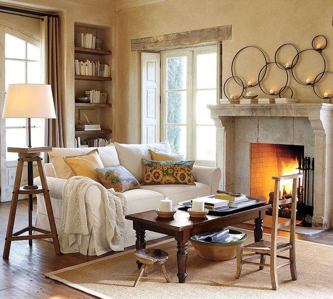 Traditional Living Room Living Room