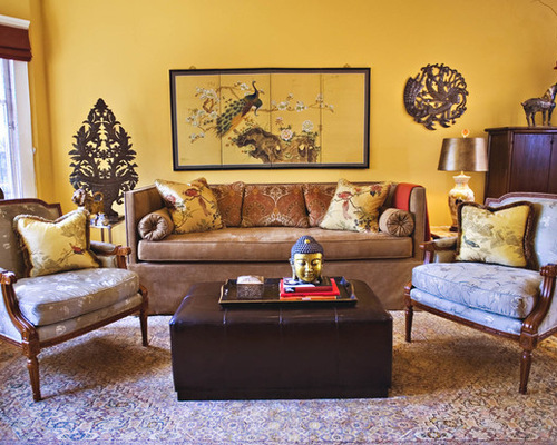 Yellow And Brown Living Room Ideas Design Inspirations Part 76