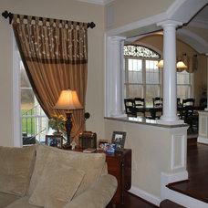 Traditional Living Room by LB Interiors - Annapolis Interior Design Studio