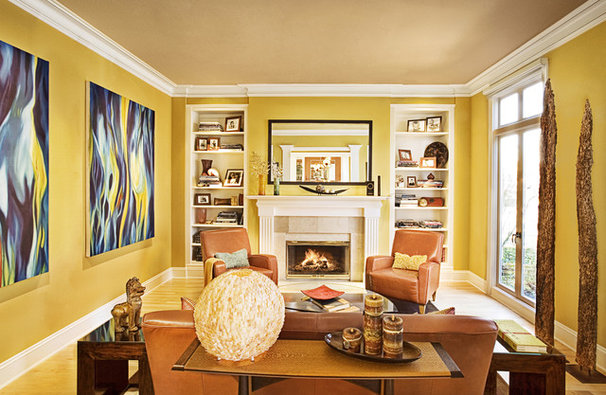 Traditional Living Room by Adeeni Design Group