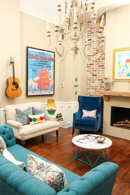 Room Of The Day Colorful Living Room Hums With New Energy