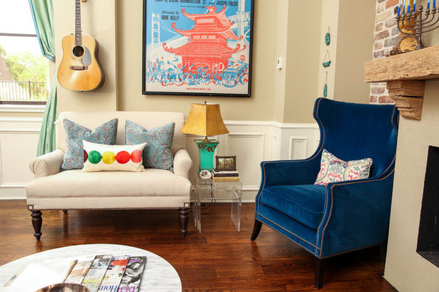 Room of the Day: Colorful Living Room Hums With New Energy