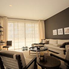 Modern Living Room by Indoor Furniture