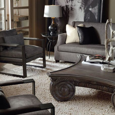 Traditional Living Room by Cadieux Interiors