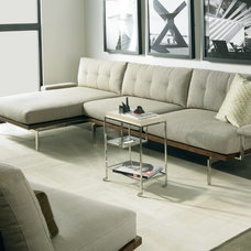 Modern Living Room by Cadieux Interiors