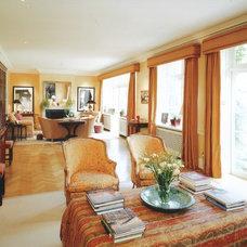 Traditional Living Room by La Rizza Interior Design