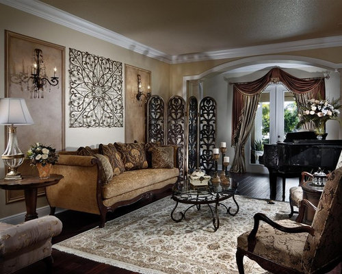 houzz  living room wall decor design ideas  remodel pictures, Home designs