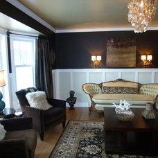 Modern Living Room by Jamie Crose/Jamie Designs