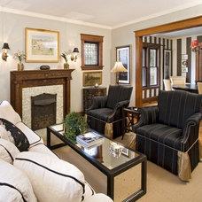 Traditional Living Room by Jennifer Austin-McGrath, Allied ASID