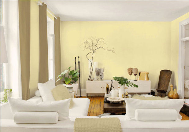 ... Living Room Source · Best Ways To Use The Soft Yellow Color Of 2014 Part 42