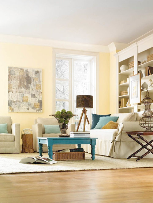 Pale Yellow Paint Houzz