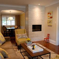 Contemporary Living Room by Jennifer - Rambling Renovators