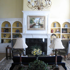 Traditional Living Room by Karen Parham - KMP Interiors