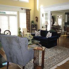 Traditional Living Room by Karen Parham - KMP Interiors