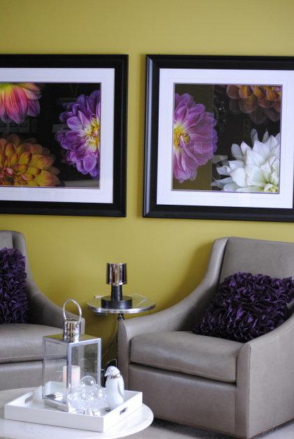 Contemporary Living Room by Karen Viscito Interiors