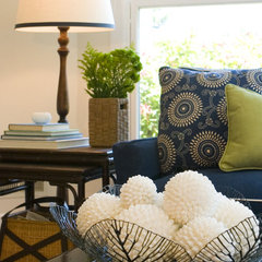 living room by Kate Jackson Design