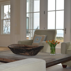 Beach Style Living Room by Kate Jackson Design