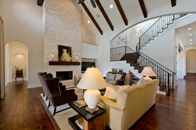 Contemporary Living Room by Kelle Contine Interior Design, LLC