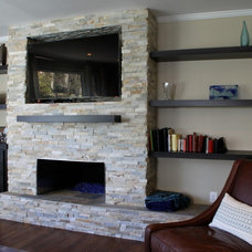 Contemporary Living Room by Charles C. Almonte, AIA ASID