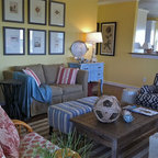 Beach House Living Room Eclectic Living Room Dallas