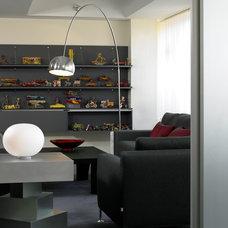 Modern Living Room by Kristen Rivoli Interior Design