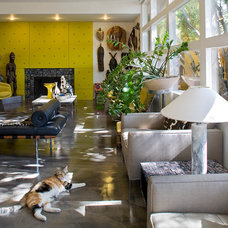 Eclectic Living Room by KuDa Photography