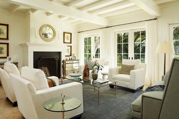 Contemporary Living Room by L K DeFrances & Associates