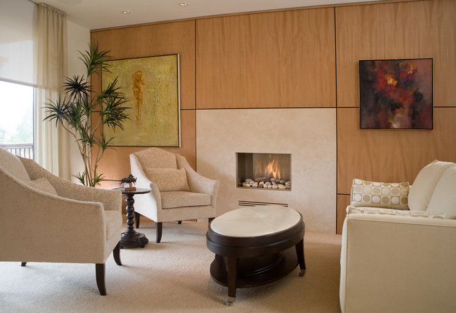 contemporary living room by REGINA KURTZ