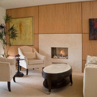 LIVING ROOM - LA JOLLA CONDO REMODEL