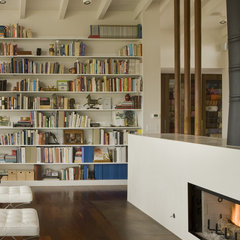 contemporary living room by Laidlaw Schultz architects