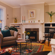 Traditional Living Room by Lapis Design Partners