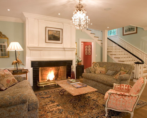 Best Traditional Fireplace Surround Design Ideas & Remodel