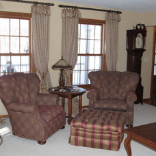 Traditional Living Room by Lauradeen Potretzke, Allied ASID