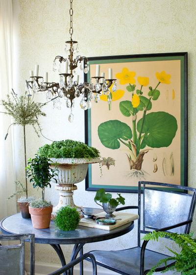 Eclettico Soggiorno by Lauren Liess Interiors