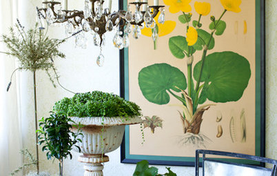Botanical Prints Turn Over a New Leaf