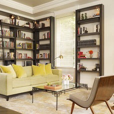 modern living room by Chloe Warner