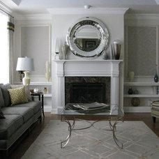 Traditional Living Room by Linda Principe Interiors LLC