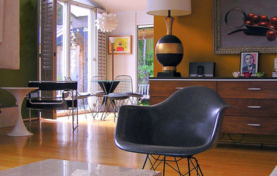 My Houzz: Colorful Midcentury Modern by the Ocean