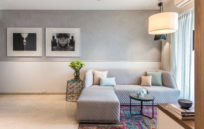 Mumbai Houzz: It's All About Pastel Hues & Subtle Sophisticatication
