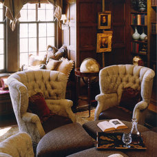Traditional Living Room by Lola Watson Interior Design