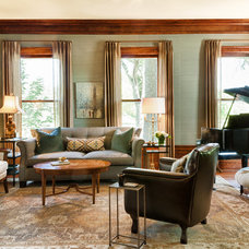 Traditional Living Room by Herrick Design Group