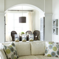 eclectic living room by Liz Williams Interiors