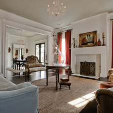 Traditional Living Room by Lori Rourk Interiors Inc.
