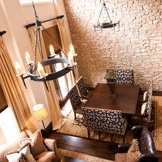 Mediterranean Living Room by Lulu Designs