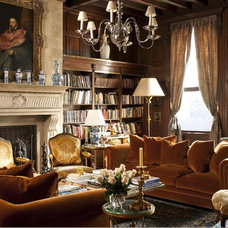 Traditional Living Room by Matthew Frederick - M. Frederick L.L.C.