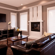 Traditional Living Room by Madison Park Homes