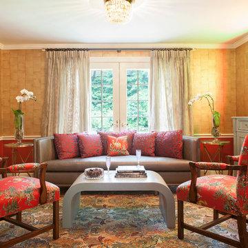 Living Room make over - Chestnut Hill