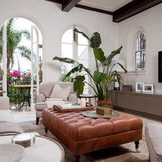 Mediterranean Living Room by Salt Interiors