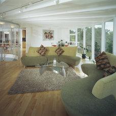 Modern Living Room by Mark Molinar