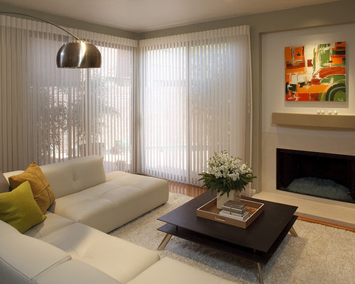 Curtains Over Vertical Blinds Houzz